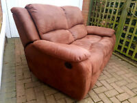 Beautiful recliner sofa. Local delivery is available.