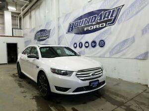 2017 Ford Taurus Limited W/ V6, AWD, Leather, Sunroof, Rmt Strt