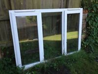 Reclaimed pvc window