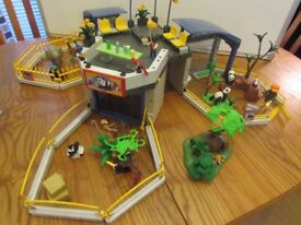 Playmobil Animal Baby Zoo with extras