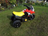 Small childs rechargeable trike