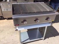 CAFE CATERING CHARCOAL GRILL RESTAURANT PUB BBQ 3 FT KITCHEN BAR TAKEAWAY COMMERCIAL FASTFOOD