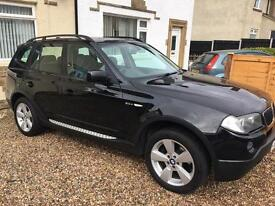 BMW X3 2l Diesel Black FSH - Detachable TowBar - Private plate not included!