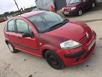 2004 CITREON C3 1.2 ASPIRATED 5 DOOR HATCHBACK RED