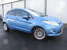 Ford Fiesta 1.4 Titanium 5dr Auto (blue) 2012