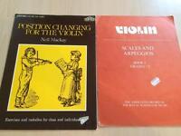2 violin books