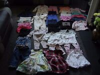 girls baby clothes 9 to 12 months