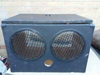 Speaker cabs home made.