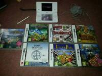 Dsi very good condition with 7 games