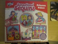 GALT Sensational Sequins Princess Palace NEW ideal present never opened For 6+ years