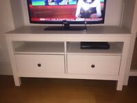 IKEA Hemnes TV Stand 2 drawers for quick sale