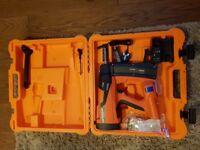 For sale brand new spit gun 800e pulsa with 17mm concrete nails for spit pulsa 800e.