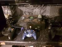 Xbox original 4x controllers 100x games
