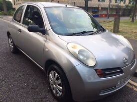 Nissan Micra Automatic car. Good condition. Cheep insurance and tax. silver. MOT pass 23 August 2016