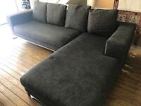 Sofa - large corner sofa, needs to be recovered
