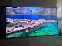Samsung 55 inch 4K Smart QLED TV with Apple TV app Freesat HD