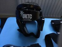 UK Taekwon Do Council Bag and Sparring Gear