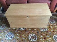 Vintage pine chest