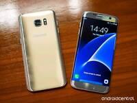 Samsung Galaxy S7 EDGE *Gold* 32GIG + Gear Fit 2 Watch