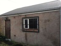 Large Garage w/ Barred Windows, Double Locked Door & Electricity for Rent **NOT AVAILABLE ANYMORE**