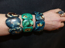TAGUA NUT BRACELETS FROM ECUADOR. TOTALLY HYPOALLERGENIC