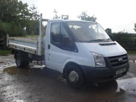 FORD TRASIT TIPPER 2010