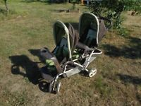 'Graco Duo-Glider' - Double Stroller Pram for twins Buggy Pushchair