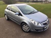 Vauxhall Corsa 1.2L 3Dr In Mint Condition! FULL SERVICE HISTORY/1 Year MOT/HPI Clear