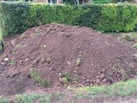 Top soil - free to collector, at least a couple of tonne. Mostly soil with some shredded turf.