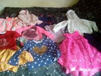 4-5yrs/5-6yrs girls clothes bundle