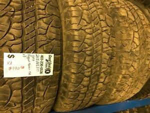 "(a)-17"" Tires ON SALE!!!-PAIRS(2tires) and SET of 3 Tires"