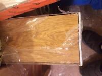 Lifestyle v groove premium laminate flooring , in honey oak colour