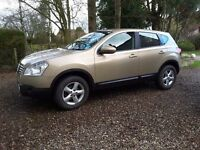 Nissan Quashqai Acenta 2wd 1598cc petrol. Serviced and MOT Oct 16. Full Service history.