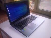 ASUS f550c i7 250gb SSD
