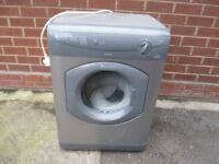 Tumble dryer, 6kg silver/grey Vented Hotpoint Dryer in immaculate condition