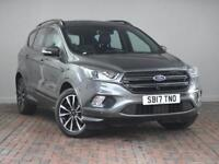 FORD KUGA 1.5 TDCI ST-LINE [Apple CarPlay, Sat Nav] 5DR AUTO 2WD (grey) 2017