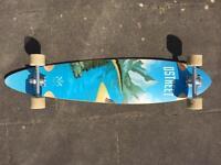 DStreet Pintail Longboard Skateboard