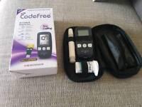 Blood glucose monitor testing kit code free