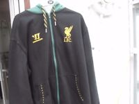 LIVERPOOL FC HOODY AS NEW SIZE XL ONLY £15 PLUS OTHER LIVERPOOL GEAR CAN DELIVER OR POST