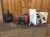 Arc Welder Used Once Still In Box Wirh All Accesories- CAN DELIVER