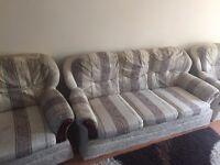 2nd hand Italian embroidered sofa set (3 piece)