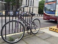 Great secondhand bike with basket for sale