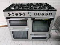 Flavel Milano Dual Fuel Range Cooker with FSD 100cm