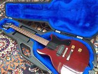Vintage 1989 USA Gibson Les Paul Junior p90 doublecut; hard case; pro setup