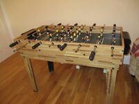 Table football multi game (pool including cues, ice hockey etc)