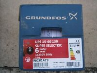 GRUNDFOS UPS 15/60 130 SELECTRIC CENTRAL HEATING BARE PUMP 96281473 BNIB
