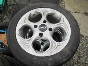 4---195/50R15 Tires---mounted on Eagle Alloys---4 x 114.3mm