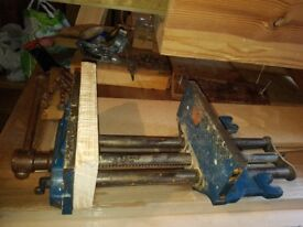 Record woodwork bench vice