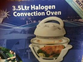 Portable halogen Oven/grill needs electric