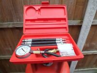 As new Snap On MT308KB Compression tester kit.